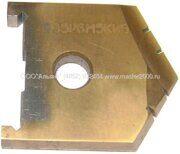 Пластина для перового сверла по металлу 35 Р6М5 2000-1217 ГОСТ 25526-82