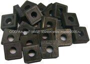 Пластины квадратные SNUM-150408 КНТ-16 со стружколомом с отверстием 6,35 мм