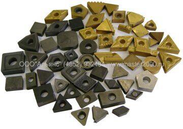 Пластины сменные твердосплавные ромбические квадратные круглые треугольные прямоугольные